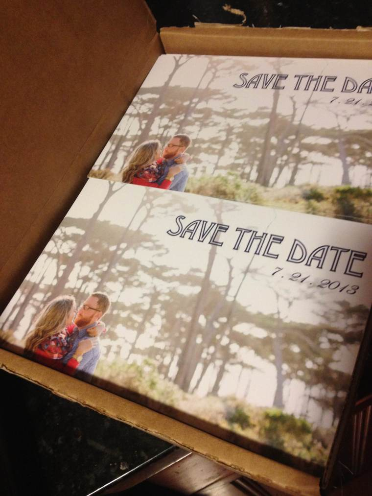 200 blurry Save-the-Dates
