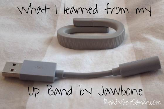 Everything that comes with the Jawbone Up Band. The charging cord plugs into the iPhone charger base. (Image by Ready Set Sarah)