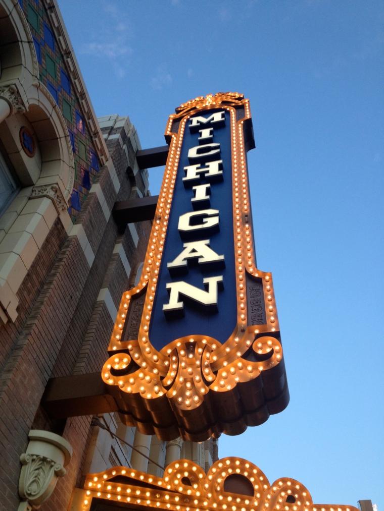 Michigan Theater, Ann Arbor Michigan (Photo by Ready Set Sarah)