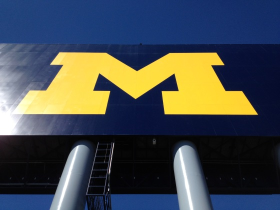 "University Of Michigan Stadium ""The Big House"" (Image by Ready Set Sarah)"