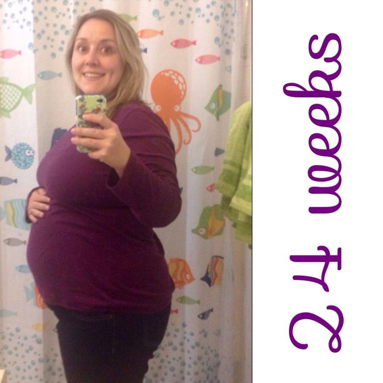 24 Weeks! (6 Months Pregnant)