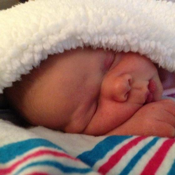 1 week old Baby Z