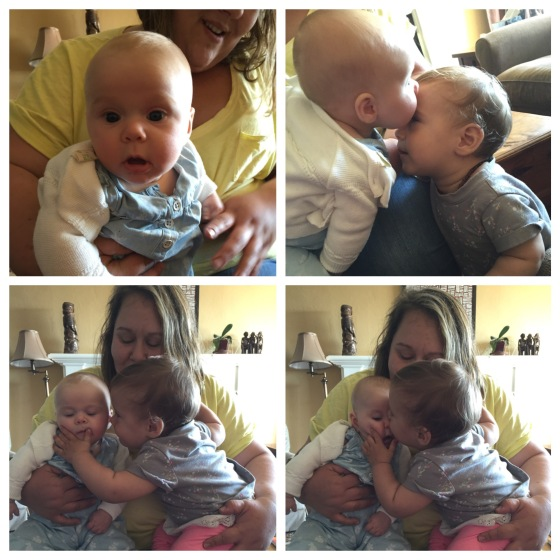 Ziva with cousin Stella and Auntie Rachel