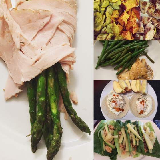 Examples of my yummy meals.