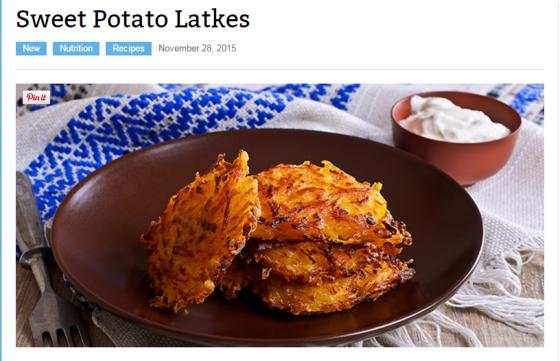 Beachbody Blog Recipe for Potato Latkes